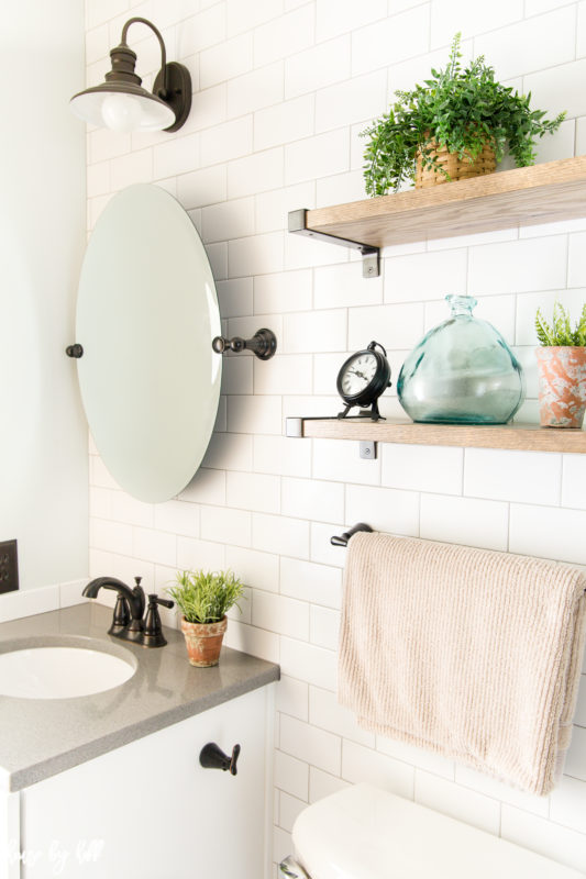 12.How to Make a Small Bathroom Look Larger After By Simphome.com