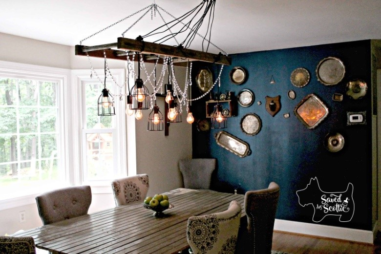 2. Crystal Ladder Light by simphome.com