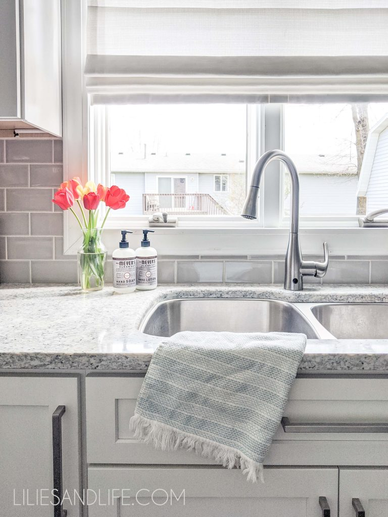 2.Decorate your Countertop and make it more elegant via Simphome.com