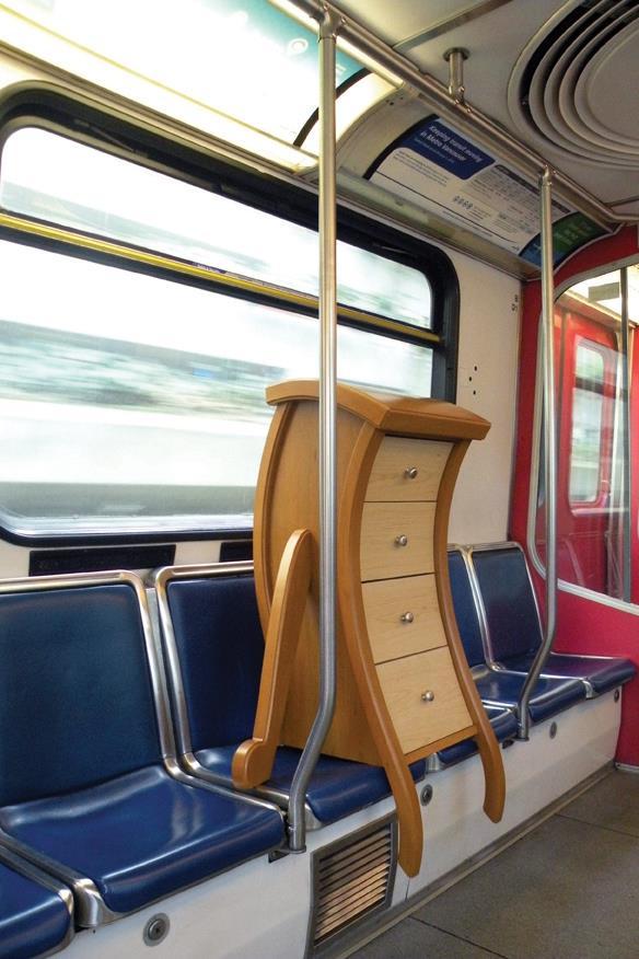2.Unique Dresser on the Train By Simphome.com