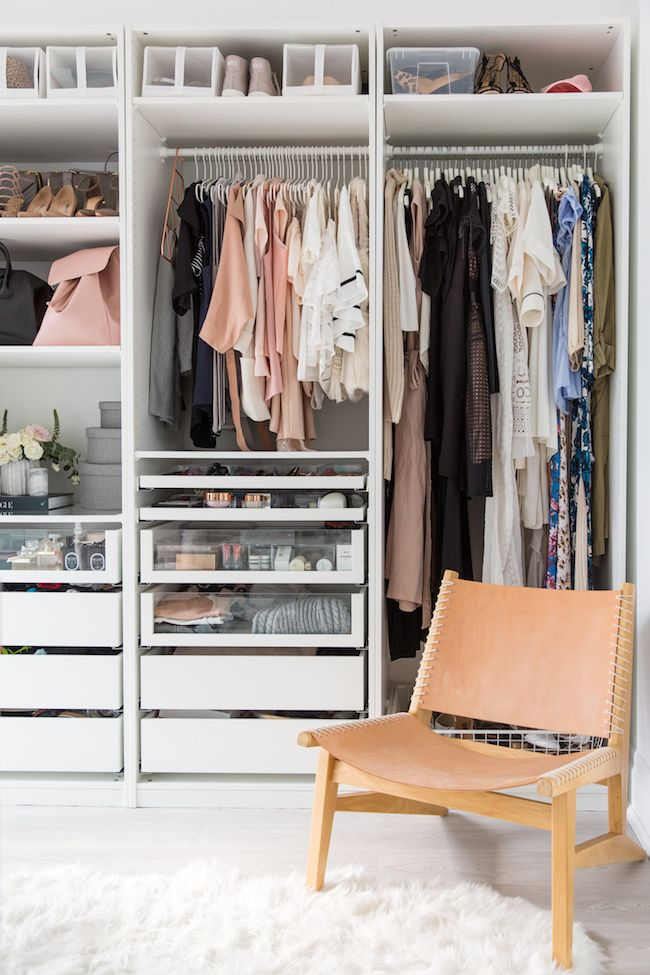 4. For IKEA fanboysgirls How to get best closet hack out of their system by simphome.com