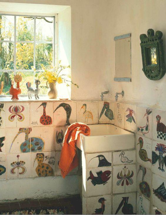 4.Animal Theme Bathroom By Simphome.com
