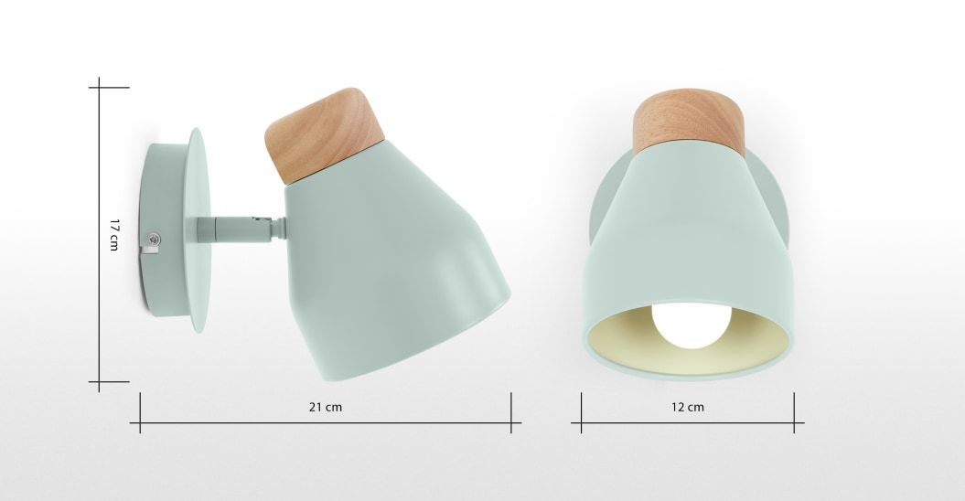 4.Choose Mounted Lights Instead of Table Lamps and Floor Lamps By Simphome.com
