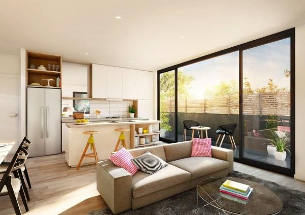 4.Open Kitchen Concept By Simphome.com