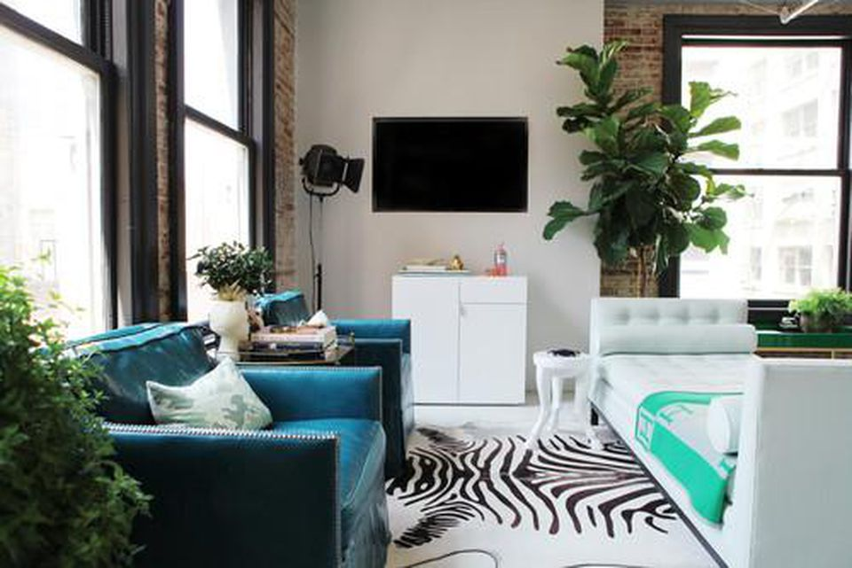 4.Opt for a Backless Couch via Simphome.com