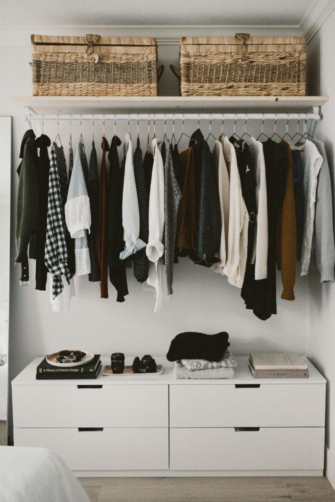 5. Get this DIY Open Concept Closet Under 400 by simphome.com