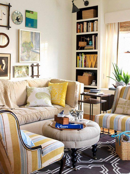 5.Invest in Hidden Storage Living room via Simphome.com