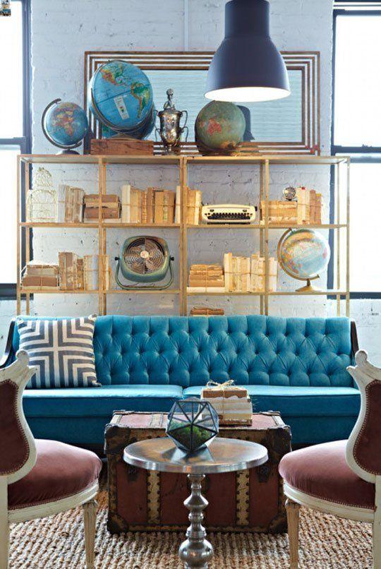 5.Invest in Hidden Storage in living room via Simphome.com