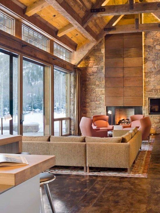 6.Contemporary Look Interior via Simphome.com