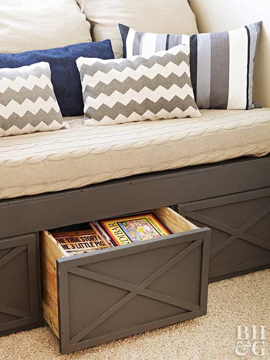 7.Storage Bench Idea via Simphome.com