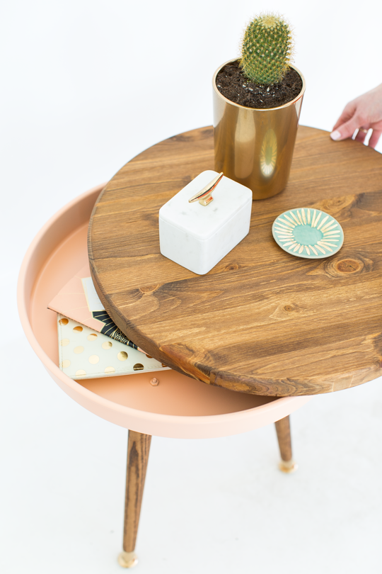 8.Try This DIY Nightstand with Storage via Simphome.com
