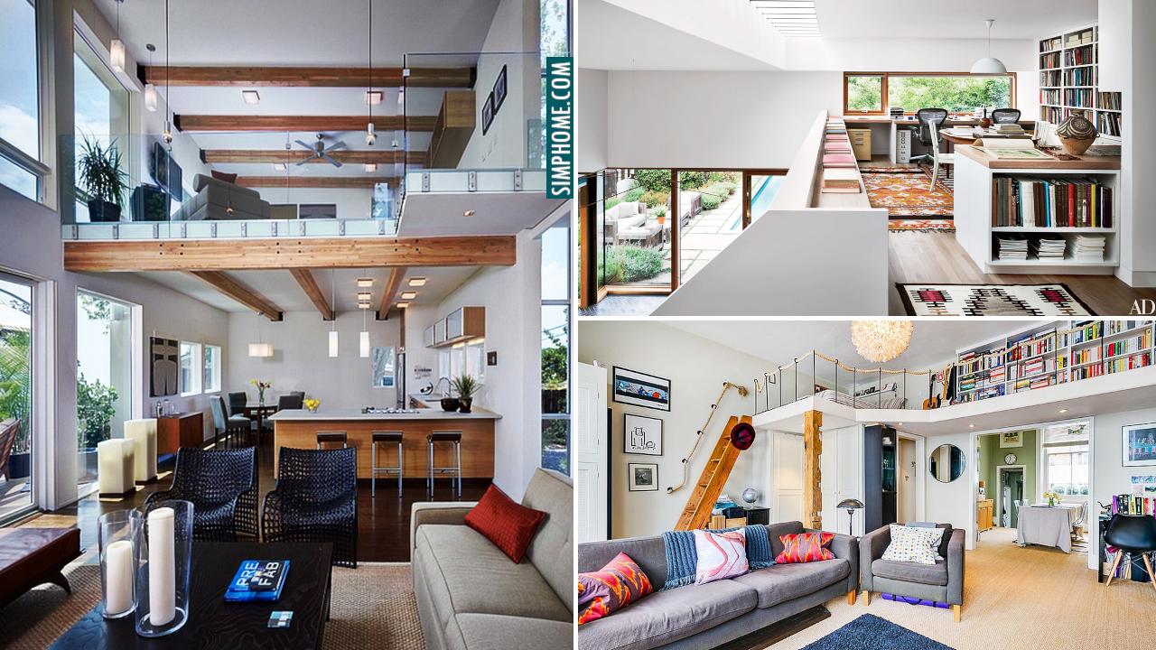High Ceiling Apartment makeover ideas via Simphome.com