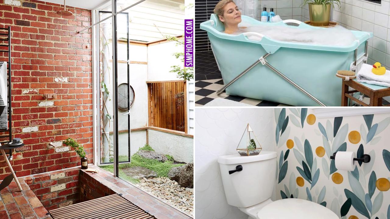 Modern Bathroom Makeovers via Simphome.comFeatured image