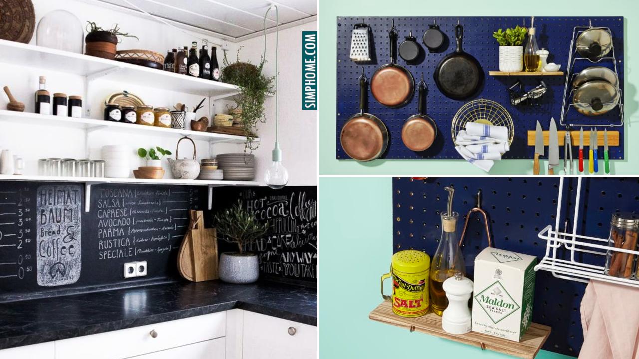 Small Apartment Kitchen Ideas via Simphome.com
