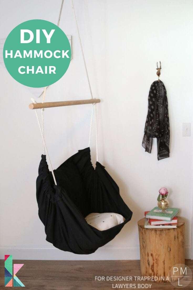 1. DIY Hammock Chair by simphome.com