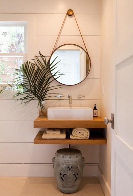 1. Open vanity ideas with multi functional feature by simphome.com