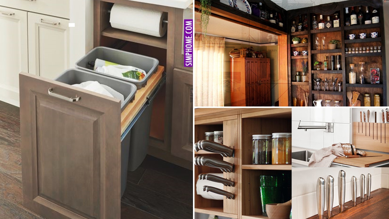 10 Built In Kitchen Design Ideas via Simphome.com