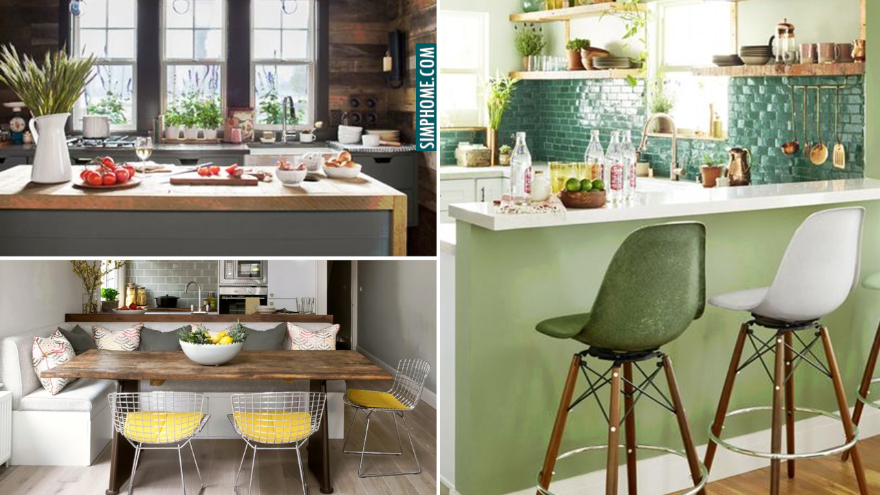10 Ideas on How to Turn Your Small Kitchen Cozier via Simphome.com