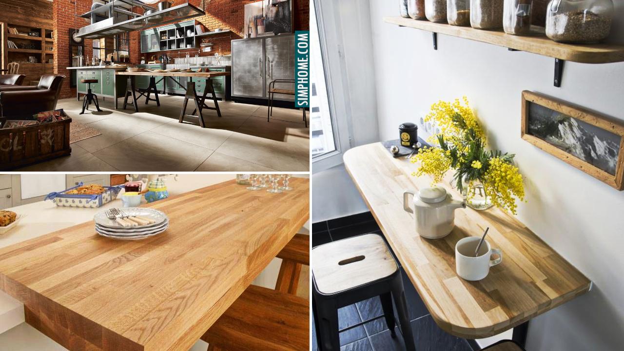 10 Kichen Design With Breakfast Bar Ideas via Simphome.comThumb
