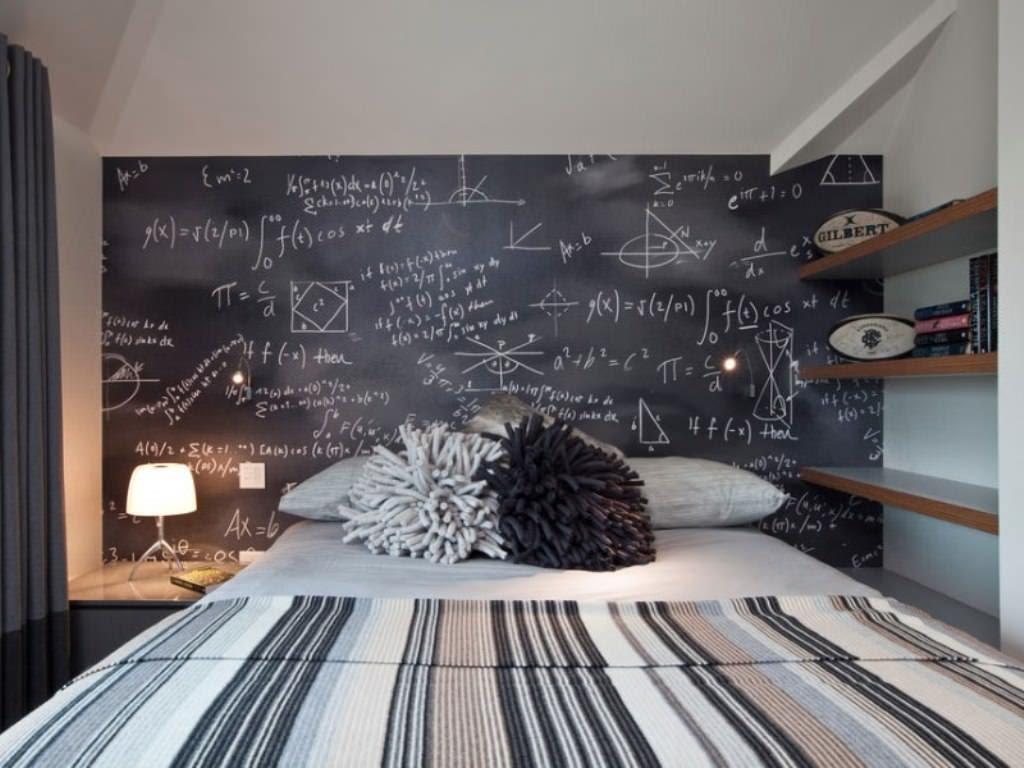 10. Chalkboard Wall art by simphome.com