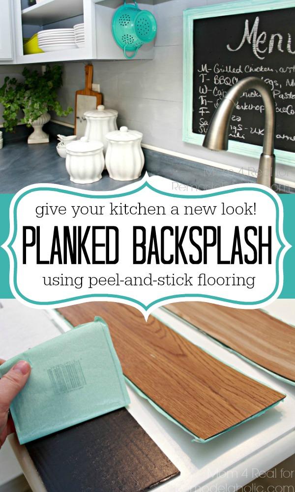 10. Plank Backsplash by simphome.com