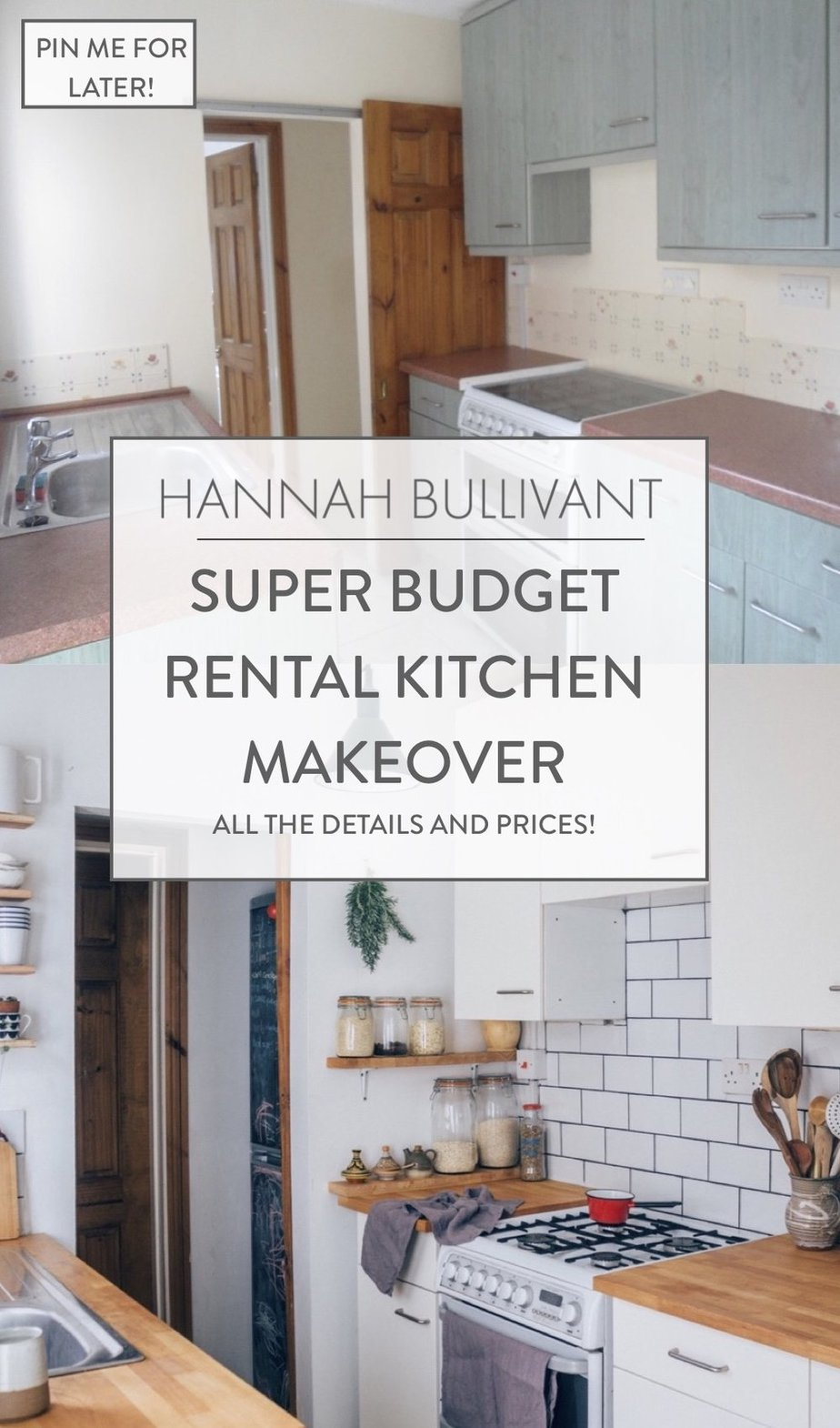 10. Try this SUPER BUDGET RENTAL KITCHEN MAKEOVER by simphome.com