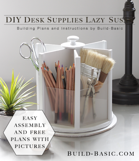 11. DIY office lazy susan by simphome.com