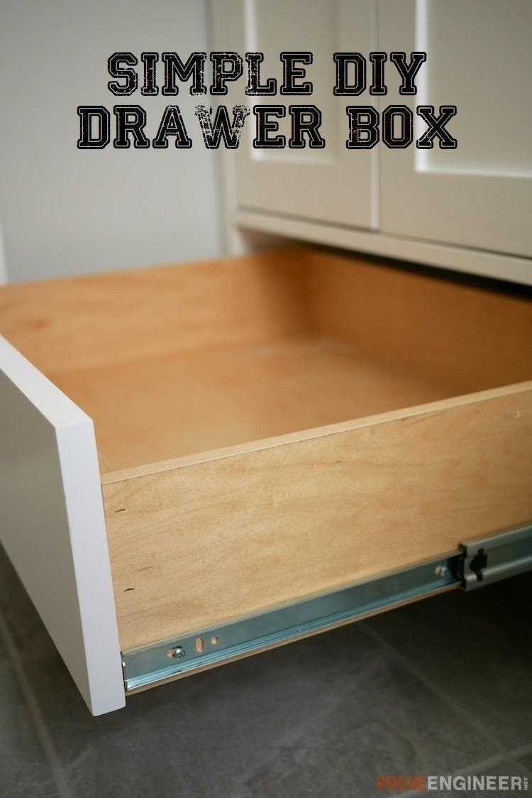 11.How to Build Simple Drawer box by simphome.com