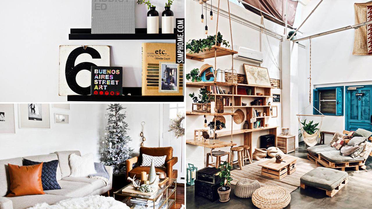 12 Clever Living Room Furniture Ideas and Arrangement via Simphome.comthumbnail