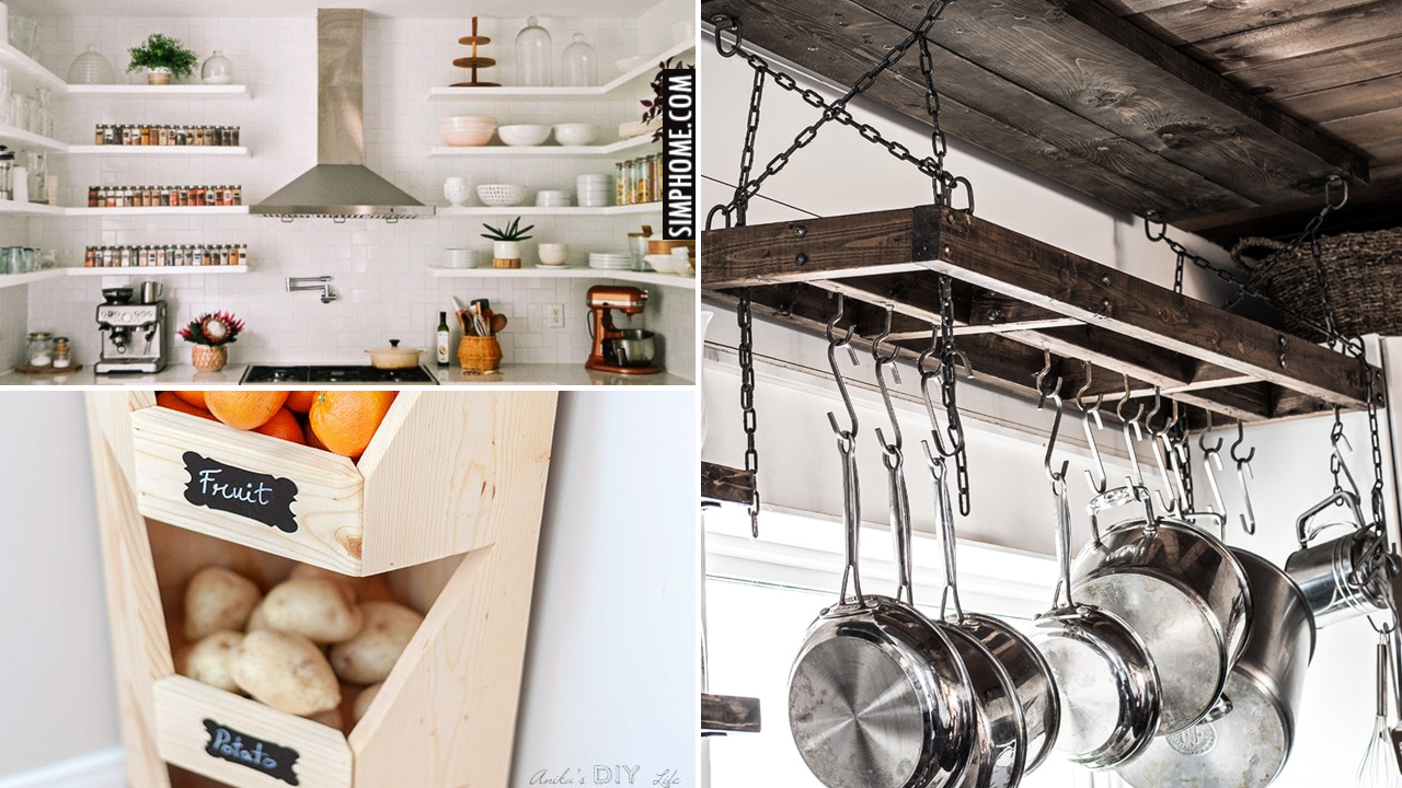 12 Ideas turn Small Kitchen Look Bigger via Simphome.comThumbnail