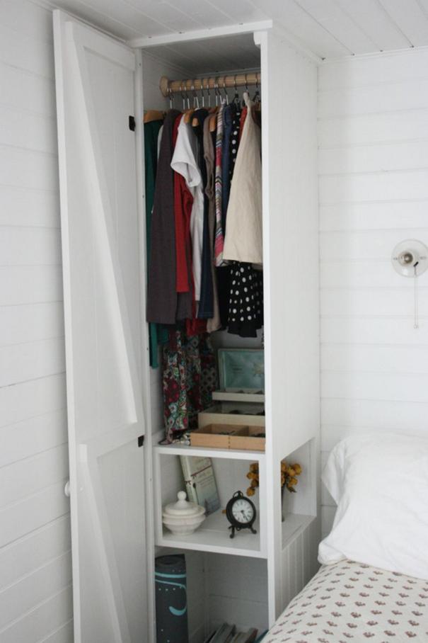3. A Slim Multifunctional Wardrobe Makeover Idea By Assortmentblog by simphome.com