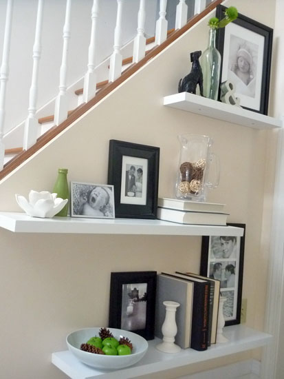 3. Accessorize your stairway by simphome.com