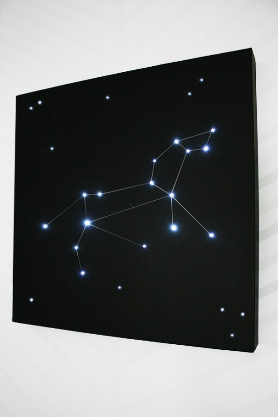 3. How To Build A Constellation Light For A Little Astronomy In The Bedroom by simphome.com