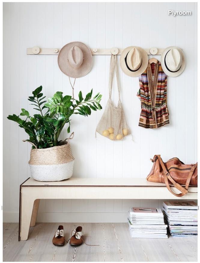 3. Utilize Wall Hooks by simphome.com