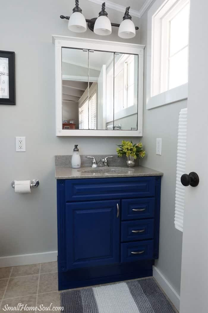 4. Bathroom vanity makeover reveal on a 100 budget by simphome.com