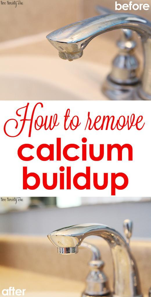 4. How to Clean Calcium off your kitchen Faucet by simphome.com