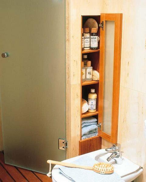 4. Minimalist Bathroom Cabinet by simphome.com
