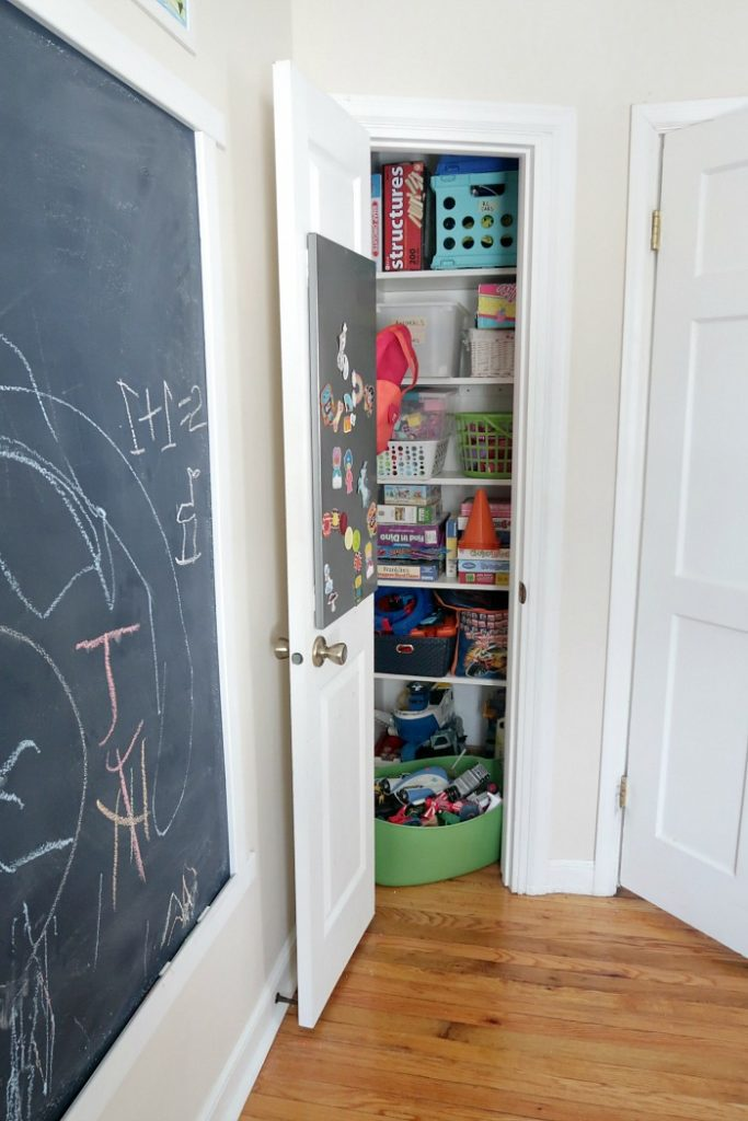 4. Optimize your awkward corner with this DIY Cleat Shelves – The Easiest Closet Shelves Ever according to the experimenter by simphome.com