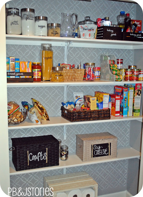 4. Or simple Solid Rack Pantry by simphome.com