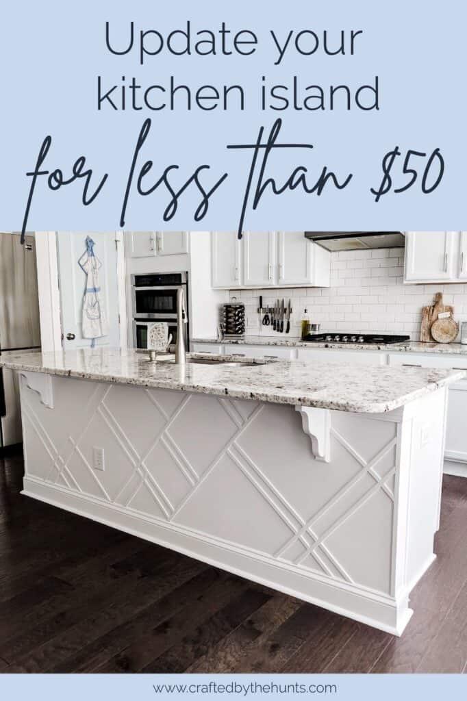 5. 50 Dollar Kitchen Island Update by simphome.com