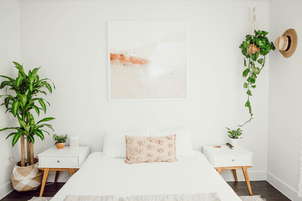 5. Behind the Design A Dreamy Boho Bedroom Makeover by simphome.com
