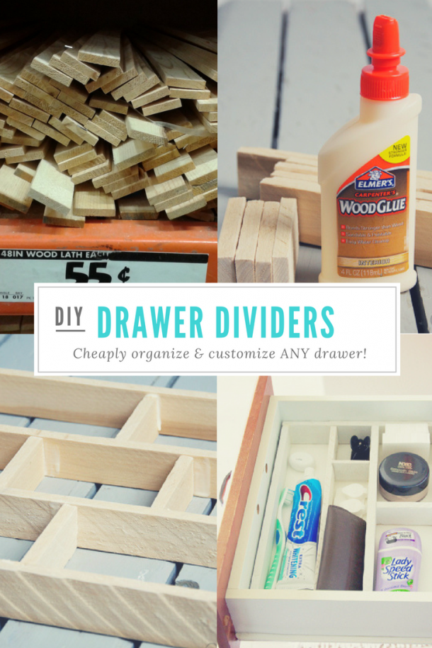 5. DIY Drawer Dividers For Under 5 by simphome.com