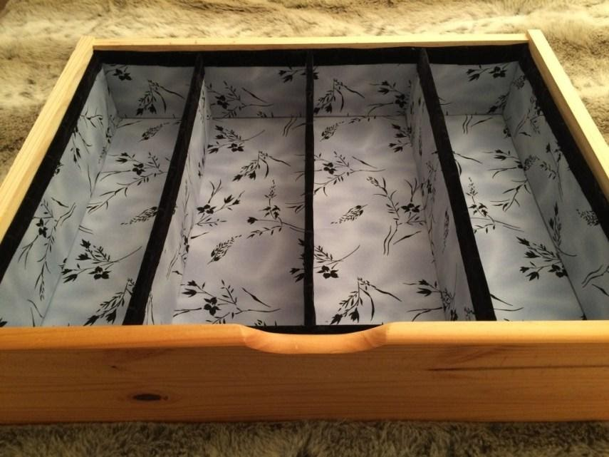 5. Get A Neat DIY Drawer Dividers with foamboards by simphome.com