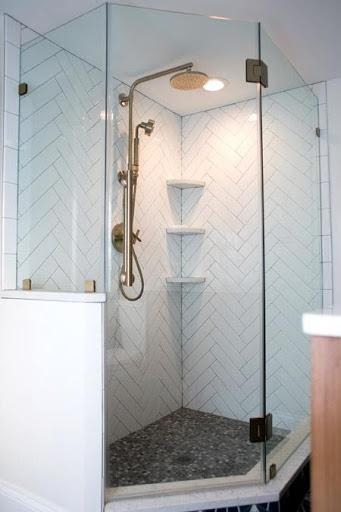 5. our tiny master bathroom shower by simphome.com