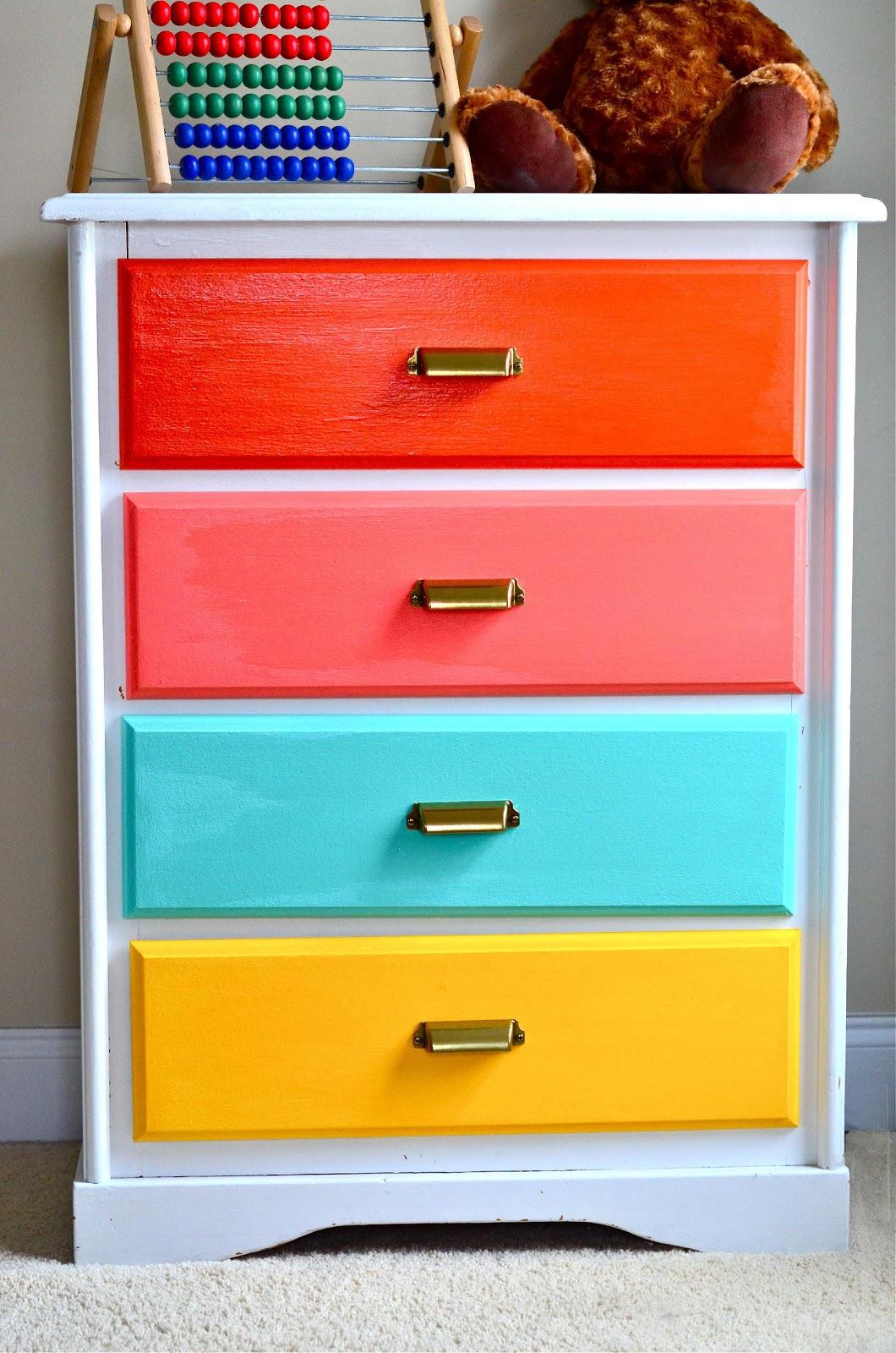 6. Color Coding Dresser for Kids by simphome.com