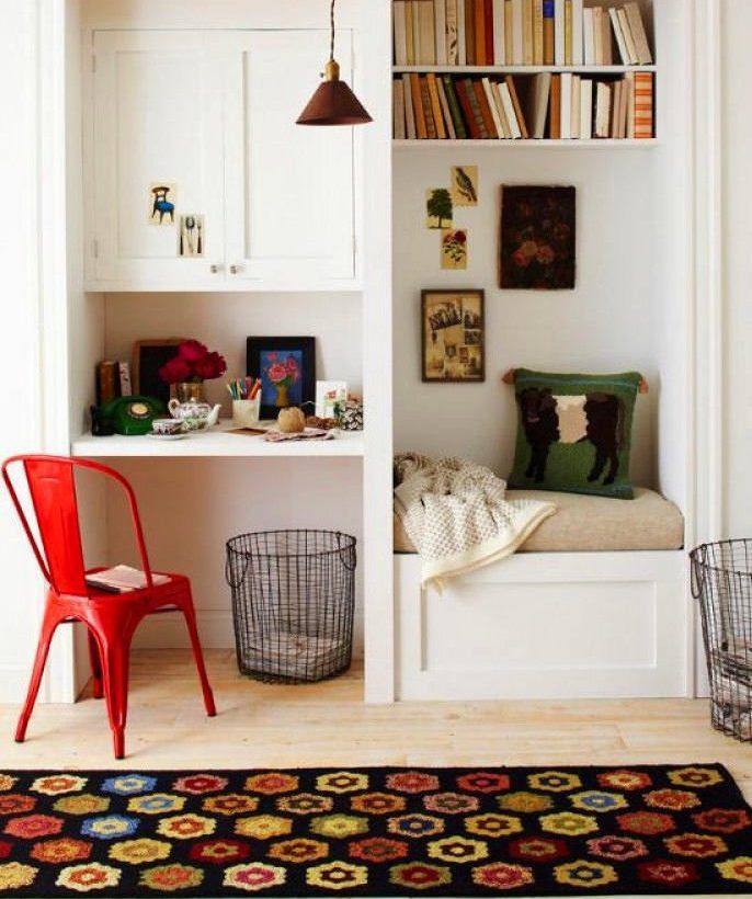6. Reading Bay via Simphome.com and Pinterest