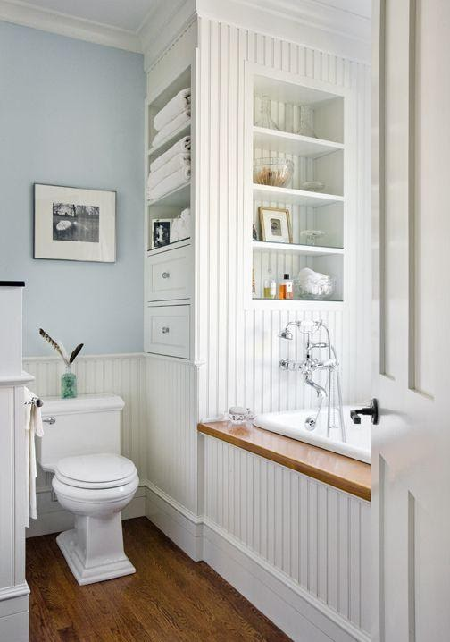 7. Built in Linen and Supply Closet by simphome.com