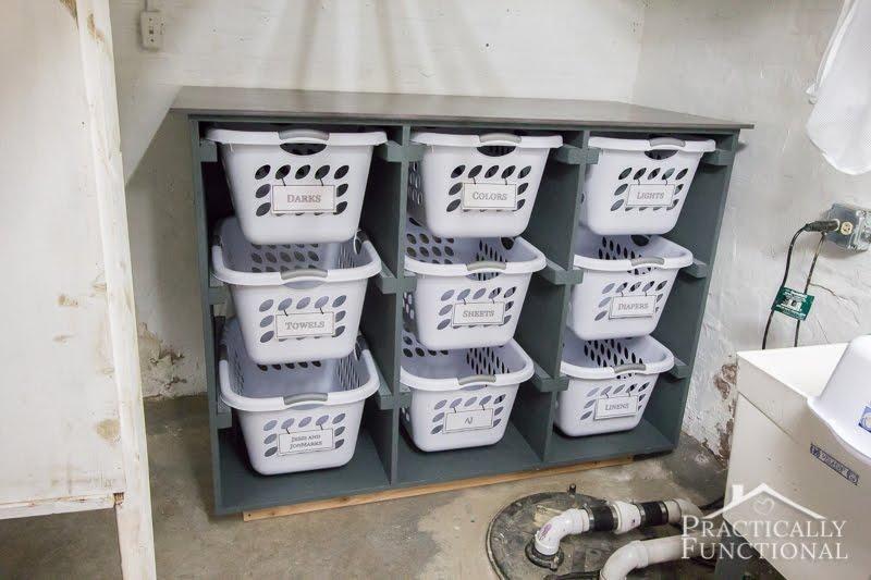 7. DIY Laundry Basket Dresser by simphome.com