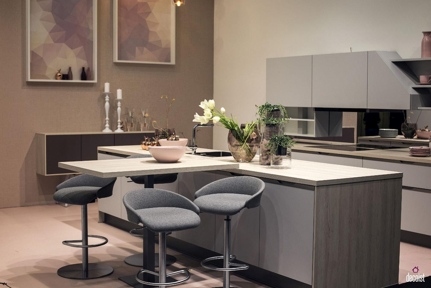 7. Kitchen Island Extension by simphome.com