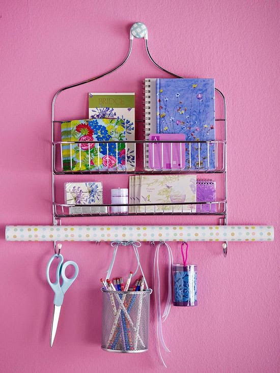 8. Shower organizer by simphome.com